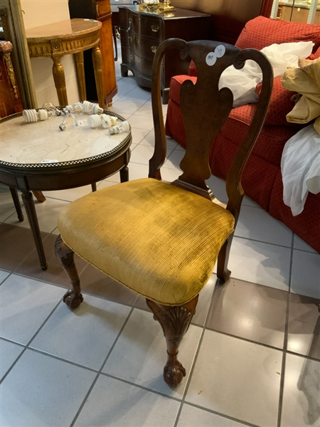 Queen Anne Chippendale Style Chair