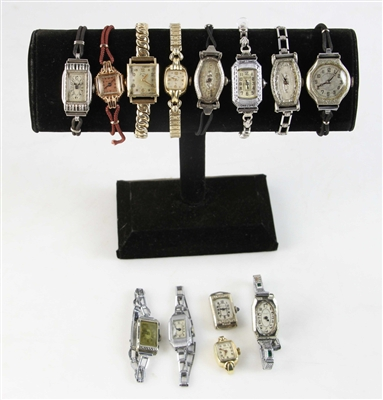 Collection of Art Deco Ladies Watches