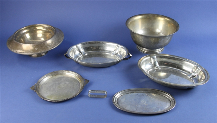 Sterling Bowl and Serving Pieces