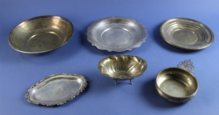 Sterling Bowls and Trays