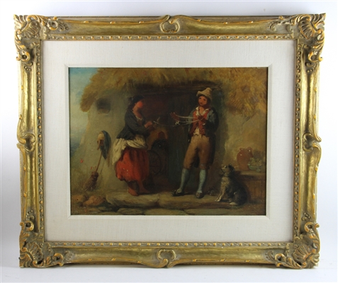 19thC Continental School Painting