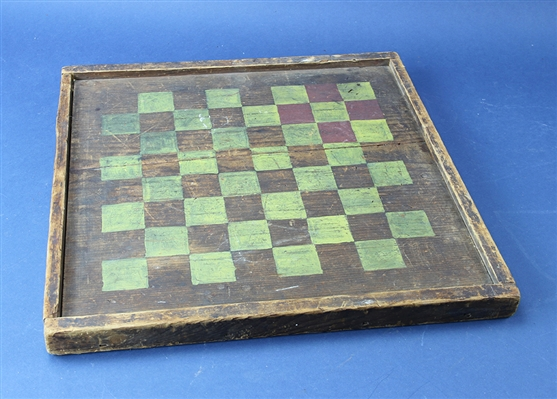 Old Painted Game Board