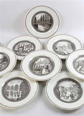 Set of Eight Wedgwood Plates