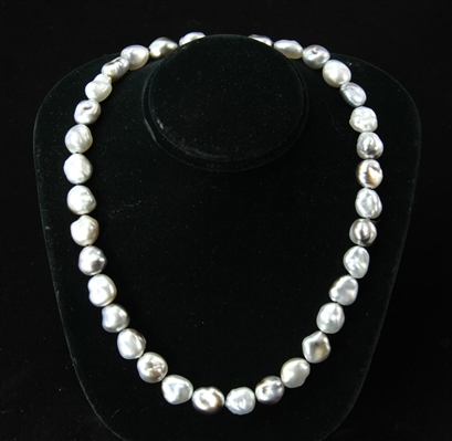 Tahitian Keshi Cultured Pearl Necklace