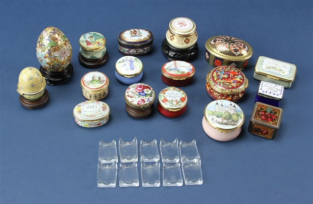 Miniature Battersea Pill Boxes