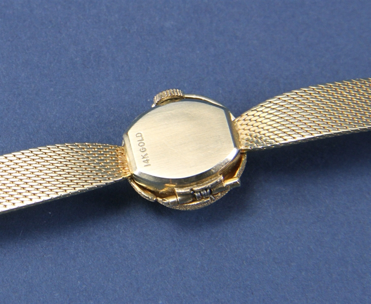 14kt Gold Geneve Diamond Watch