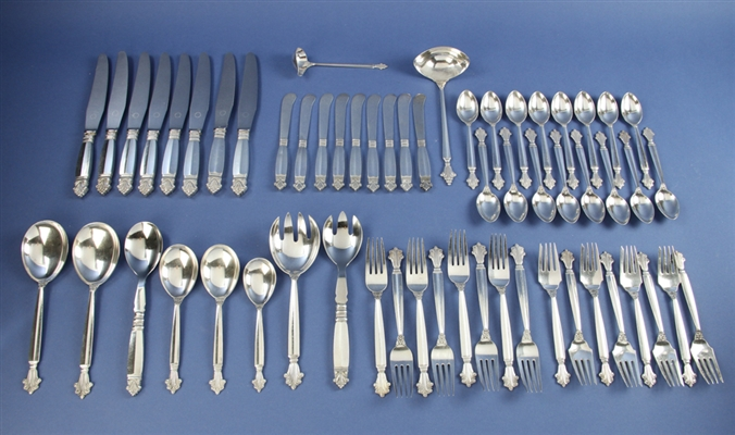 Georg Jensen Sterling Silver Service for Eight