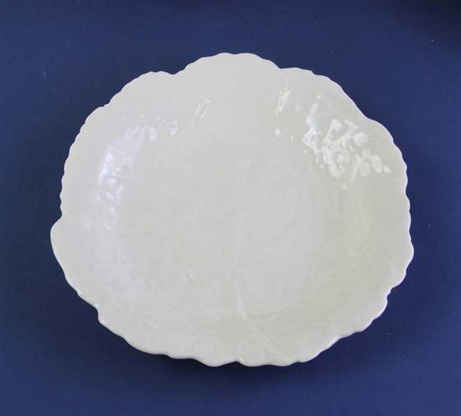 Creamware Dishes Leaf Pattern